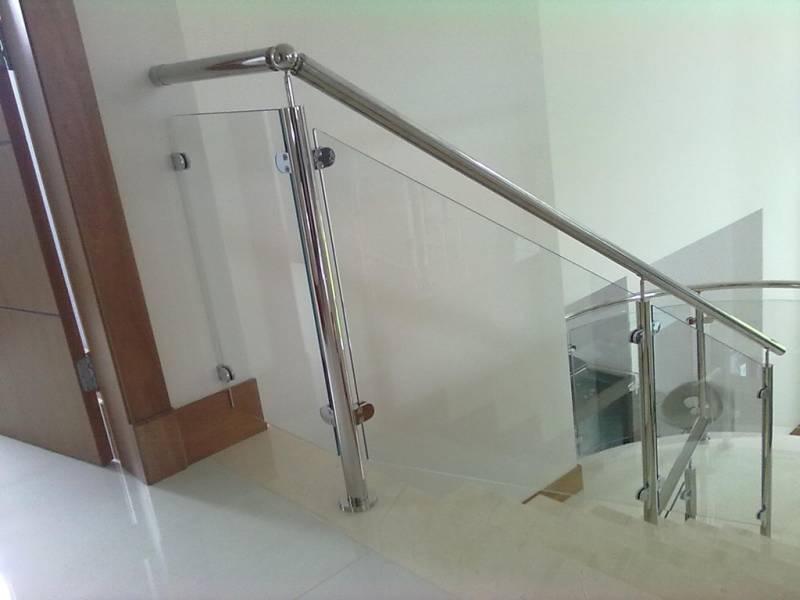 Suficiente Corrimãos de Escada em Vidro Temperado Aricanduva - Corrimão de  JD72