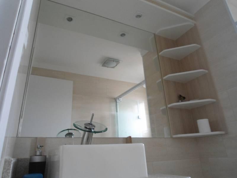 Suficiente Instalação de Espelho para Banheiro de Apartamento Belém - Espelho  GT42