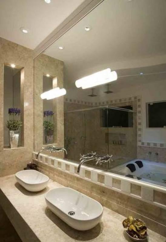 Quanto Custa Um Espelho Grande Para Banheiro : Espelhos sob medida para banheiro box em vidro